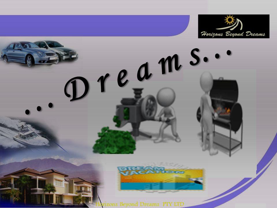 Horizons Beyond Dreams PTY LTD … D r e a m s…