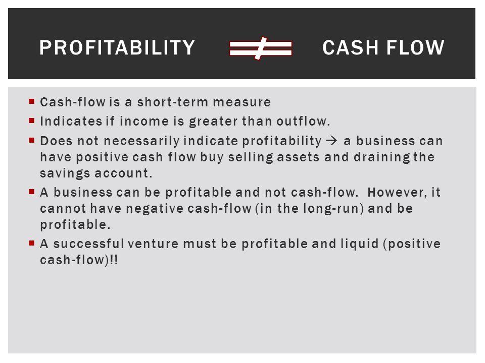 ANALYZING LIQUIDITY (CASH-FLOW)