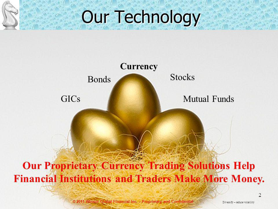 2 Our Technology Bonds Stocks Mutual Funds GICs Currency Our Proprietary Currency Trading Solutions Help Financial Institutions and Traders Make More Money.
