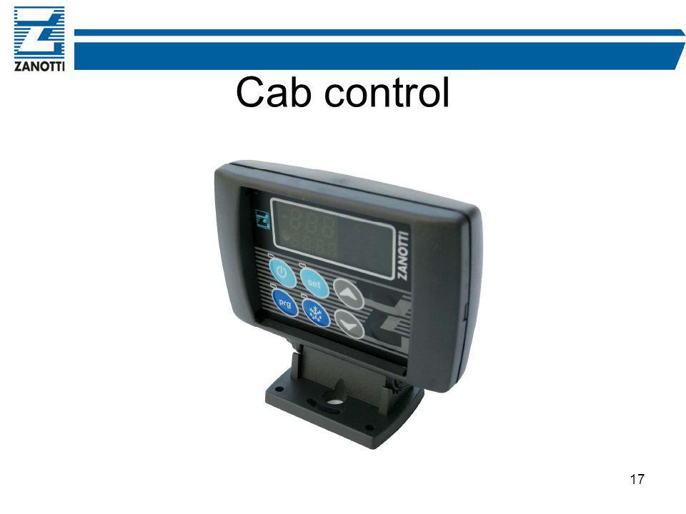 17 Cab control
