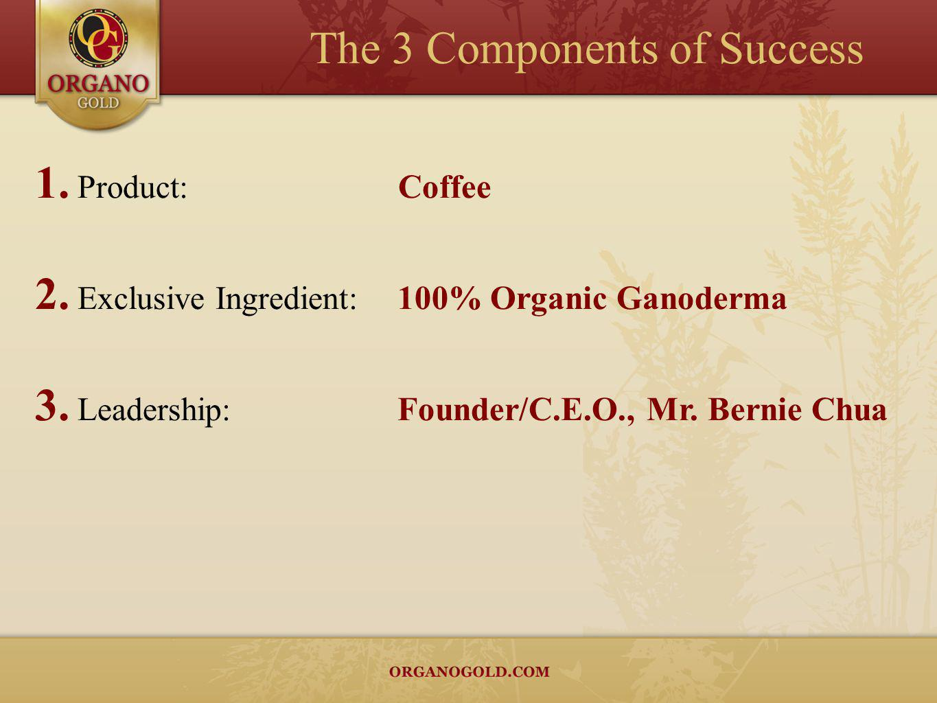 Coffee is the worlds most consumed drink next to water.