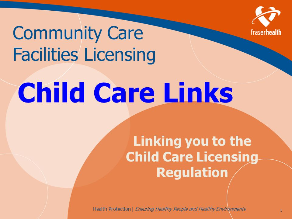 42 Health Protection | Ensuring Healthy People and Healthy Environments Self-Inspection Goals Increase regulatory compliance in licensed child care programs as assessed through facility inspections and inspection priority tools Improve the quality of licensed child care programs