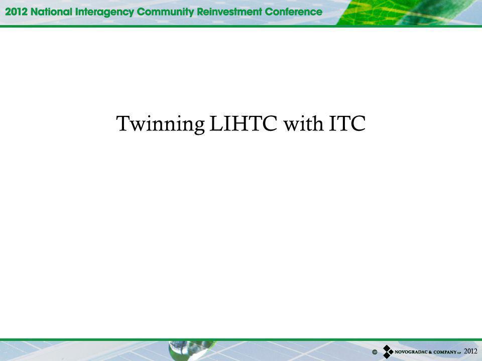 Twinning LIHTC with ITC