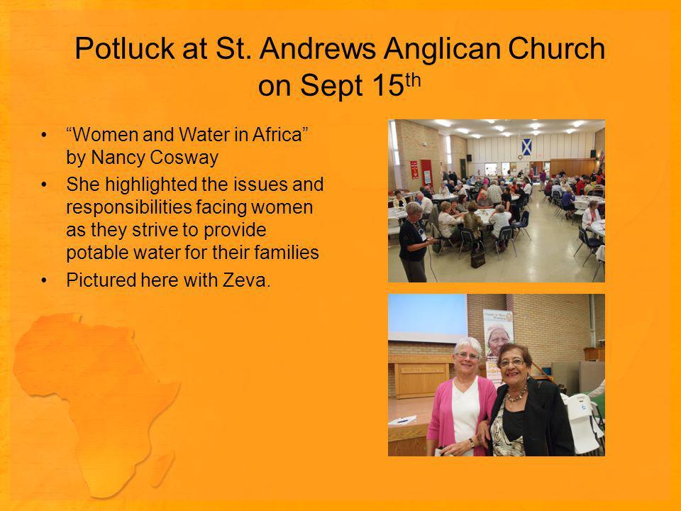 Potluck at St.