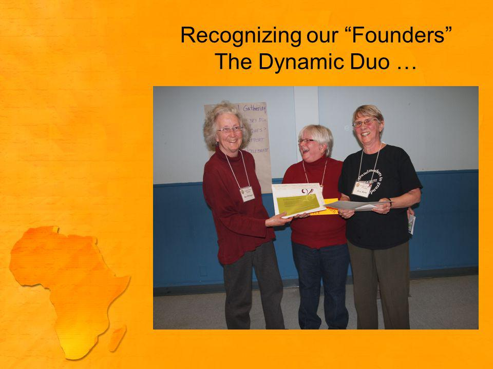 Recognizing our Founders The Dynamic Duo …