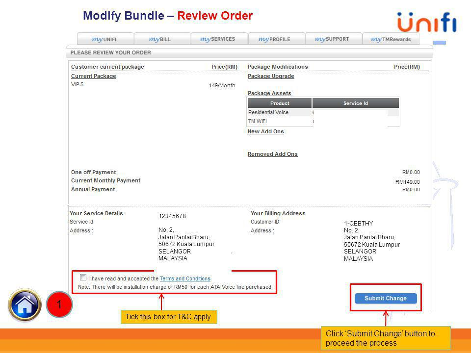 30 3) Modify Bundle By clicking this button, you will go directly to Modify Bundle Modify Bundle ahmad@unifii 3