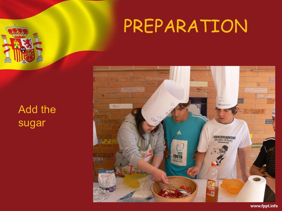 PREPARATION Add the vinegar