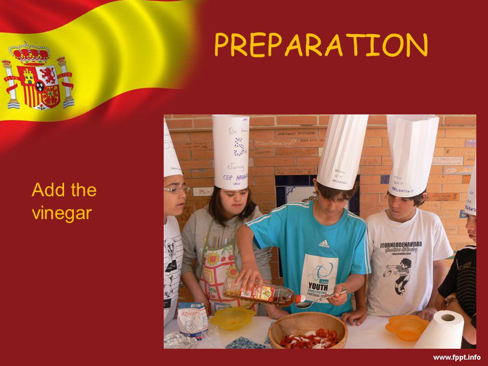 PREPARATION Stir