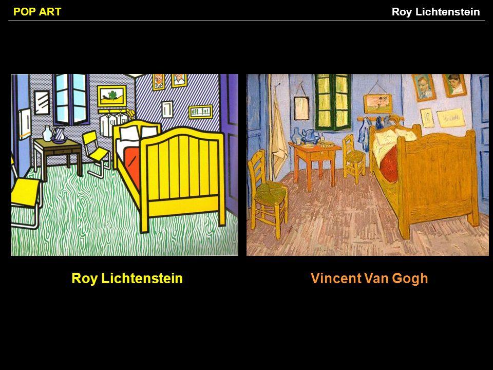 POP ART Roy LichtensteinVincent Van Gogh Roy Lichtenstein