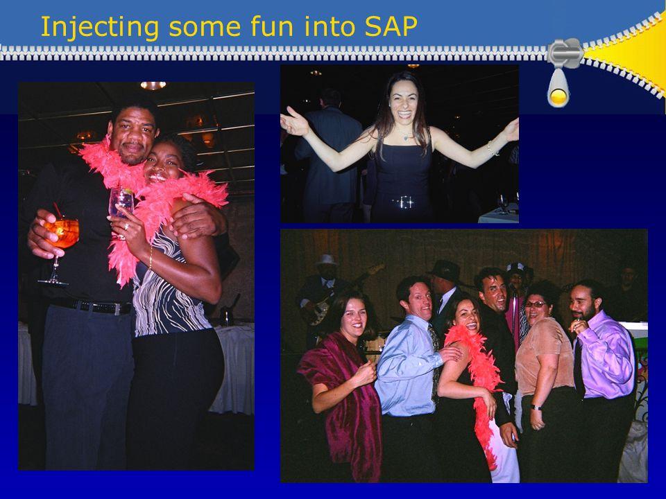 Injecting some fun into SAP