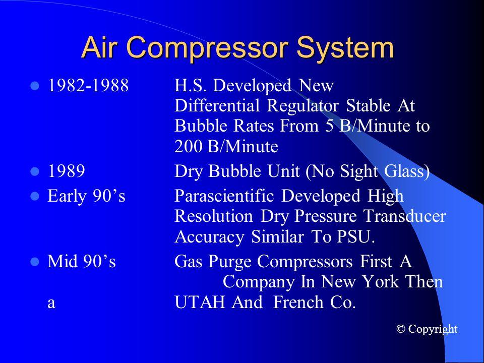 Air Compressor System 1982-1988H.S.