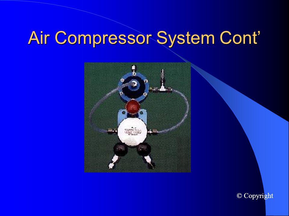 Air Compressor System Cont © Copyright