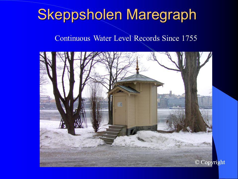 Skeppsholen Maregraph cont © Copyright