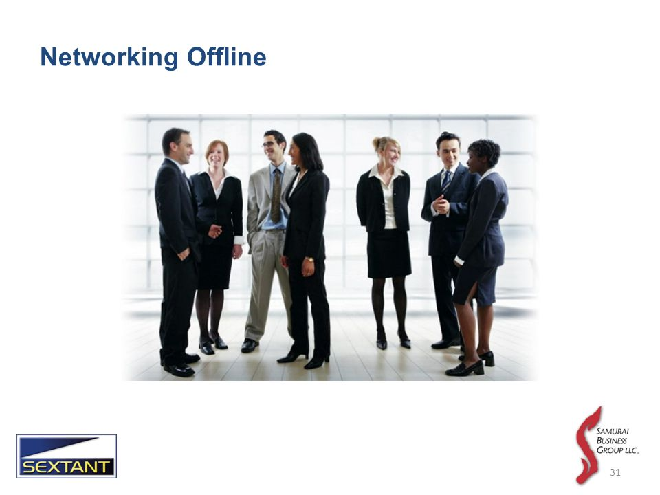 Networking Offline 31