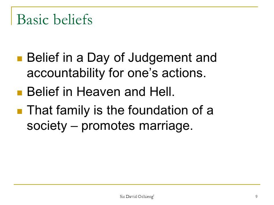 Sir David Ochieng 20 Plurality of wives Polygamy in Islam
