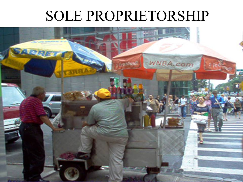 4 - 29 Types of Business Firms Sole Proprietorship: Owned by a single individual Partnership: Two or more people own and manage a business Corporation