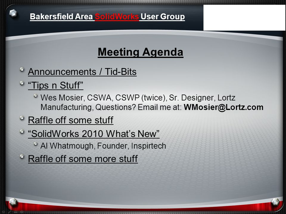 SolidWorks Community Forums Great source of information.