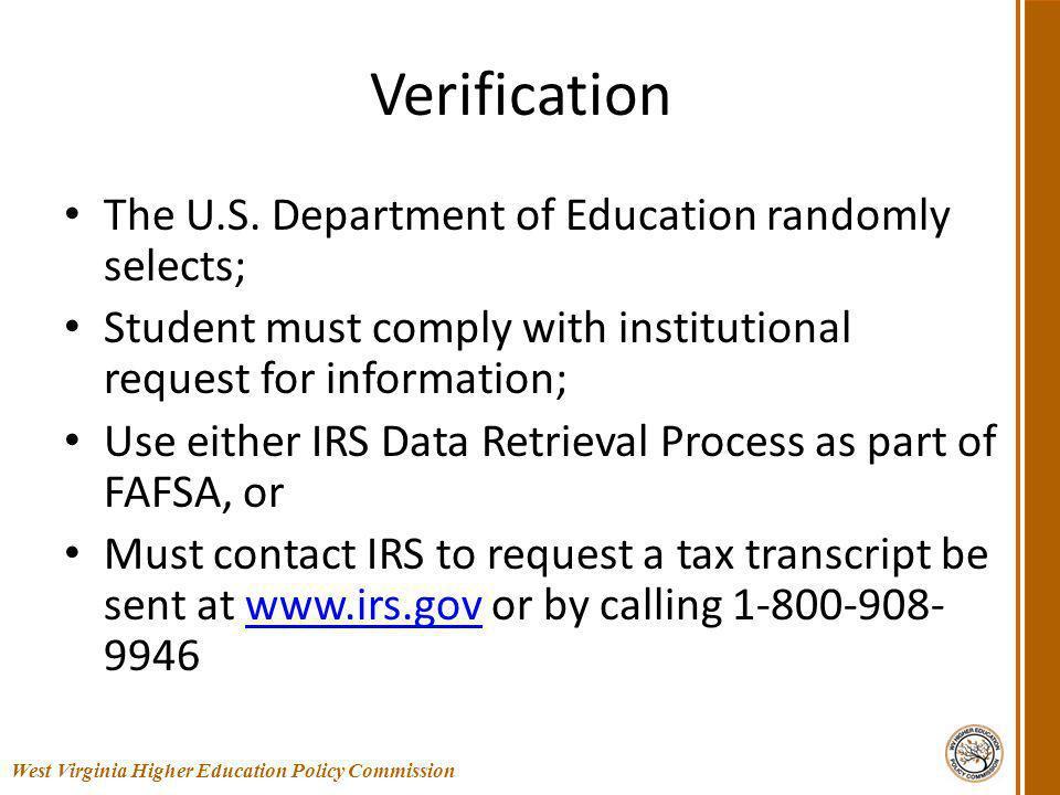 Verification The U.S.