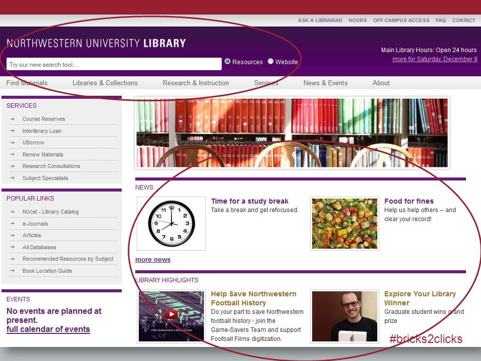 Generous Interfaces Examples: –http://www.ebay.com/newhttp://www.ebay.com/new #bricks2clicks