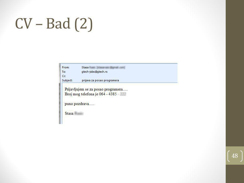CV – Bad (2) 48