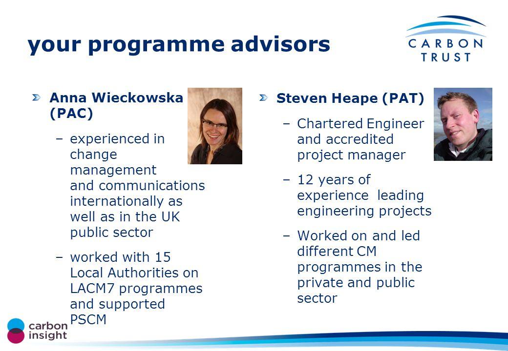 HEI carbon management programme