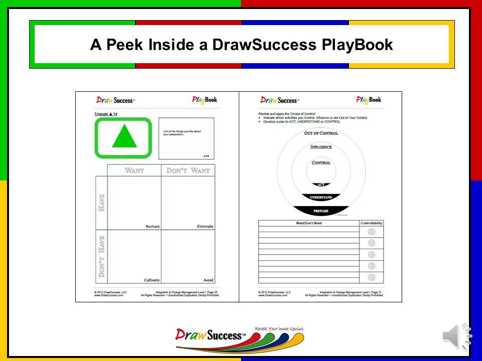 A Peek Inside a DrawSuccess PlayBook