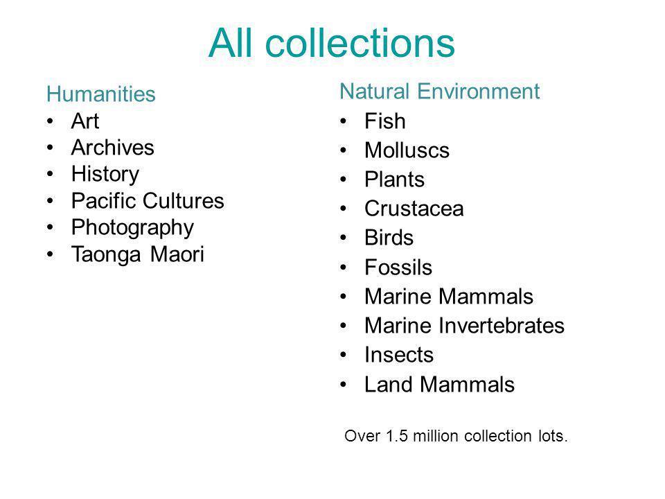 Natural Environment Fish Molluscs Plants Crustacea Birds Fossils Marine Mammals Marine Invertebrates Insects Land Mammals All collections Humanities A