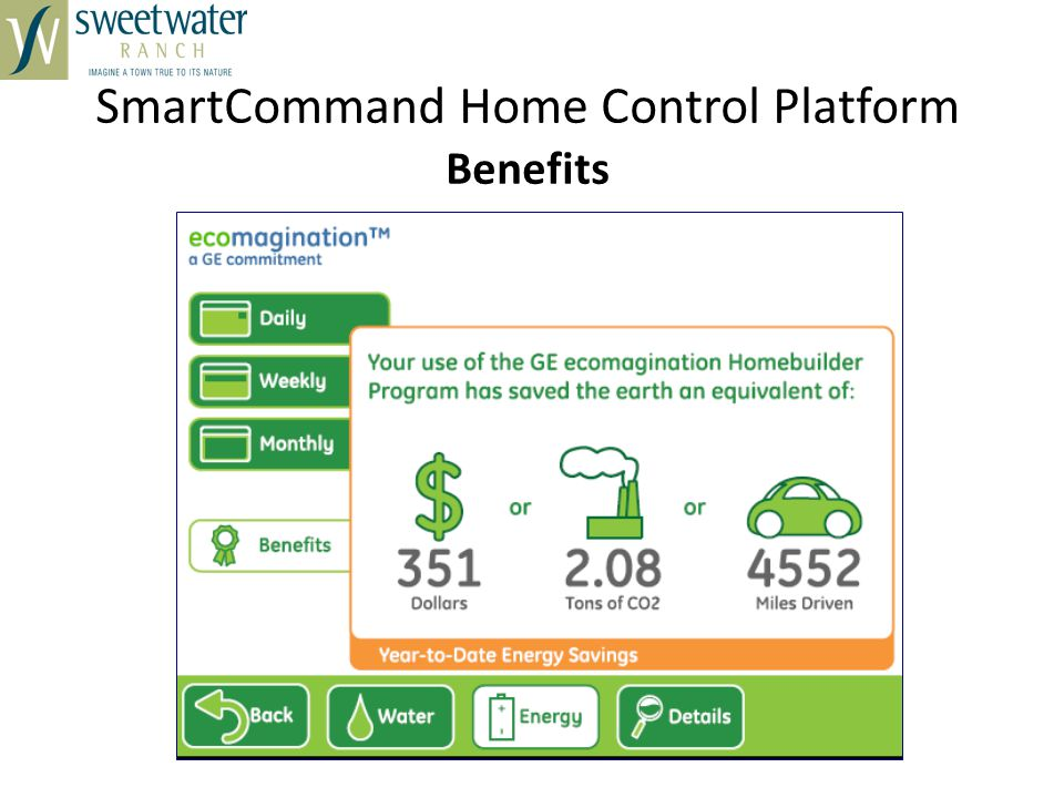 SmartCommand Home Control Platform Benefits