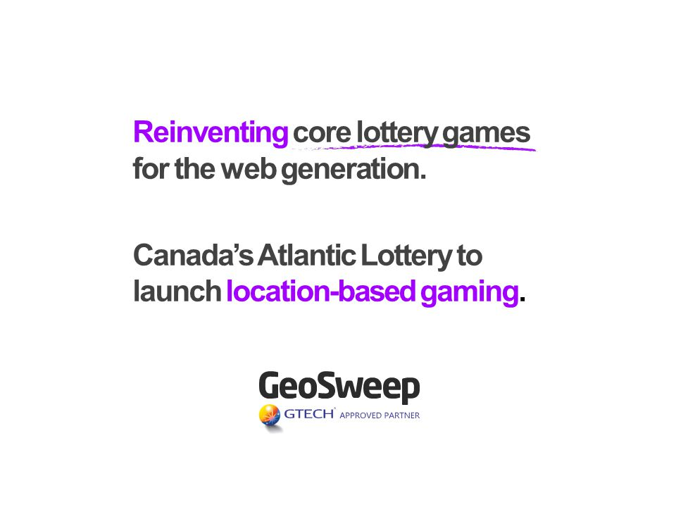 Reinventing core lottery games for the web generation.
