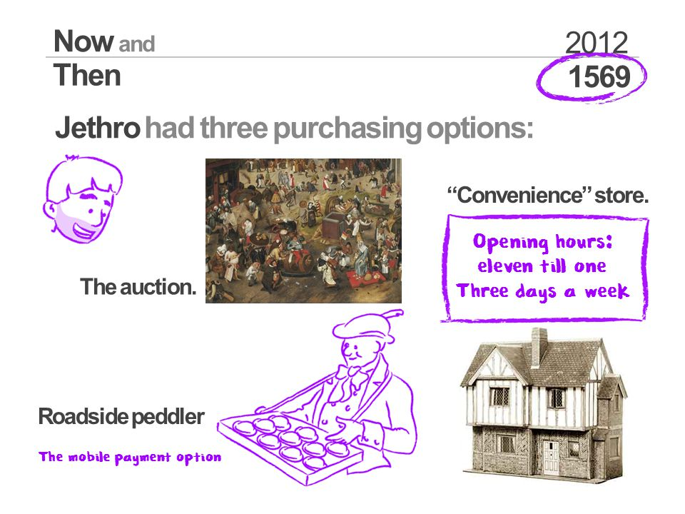 1569 Now and Then 2012 Jethro had three purchasing options: The auction.