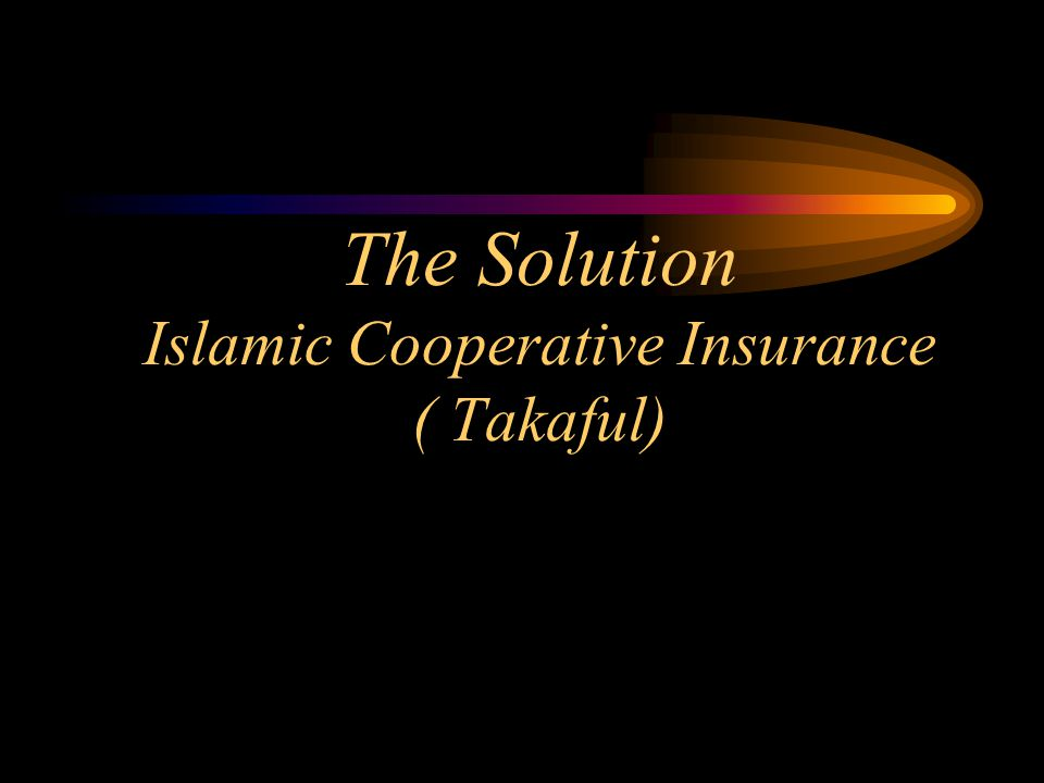 Definition for Takaful Takaful is an Arabic word that means guaranteeing each other .