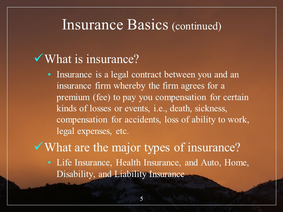 16 Life Insurance (continued) Forced Savings For those without the discipline, life insurance can be an expensive type of forced savings The investor is unable to save for retirement, although he is good at paying his bills.
