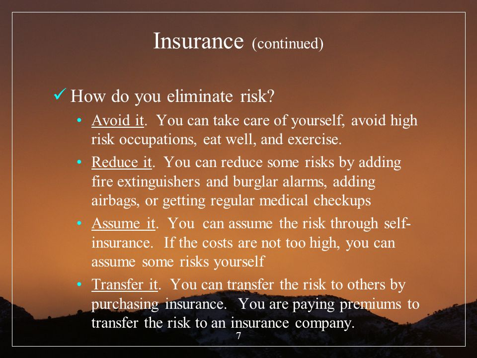 18 II.How does Life Insurance Work.