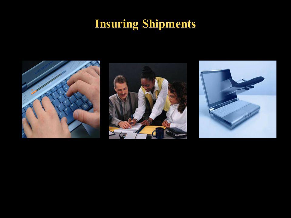 Insuring Shipments