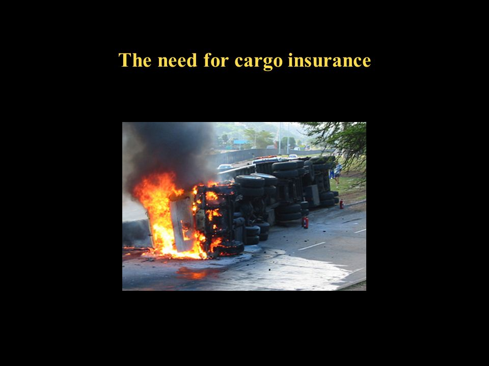 The need for cargo insurance