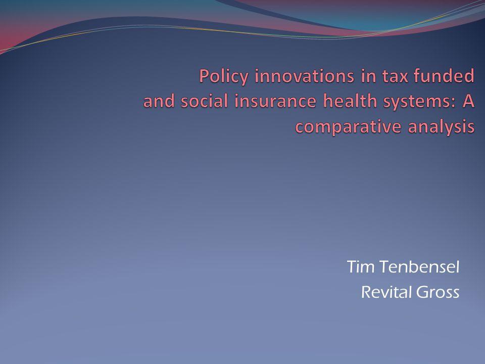 Tim Tenbensel Revital Gross