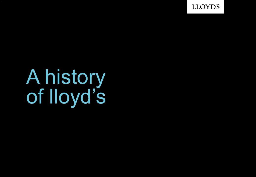 A history of lloyds
