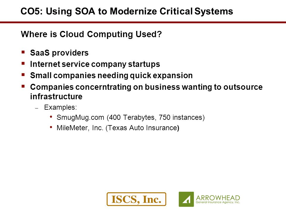 Where is Cloud Computing Used.