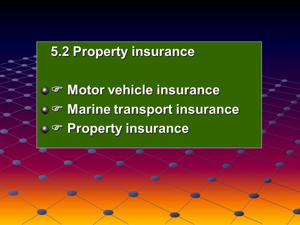 Term assurance Term assurance Personal accident insurance Personal accident insurance Endowment assurance Endowment assurance Group life assurance Group life assurance 5.1 Ordinary life assurance