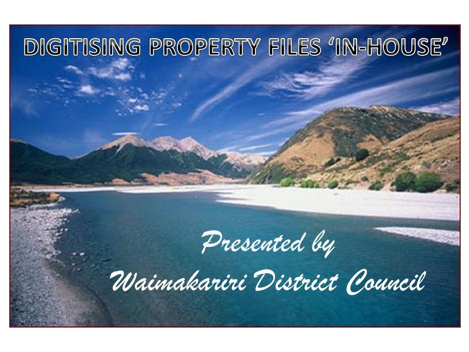Presented by Waimakariri District Council
