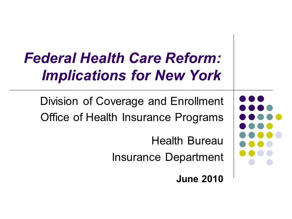 Key Components of HCR: Other Medicaid Provisions Delivery system reforms emphasizing primary care and prevention, linking payments to outcomes, and rewarding care coordination.