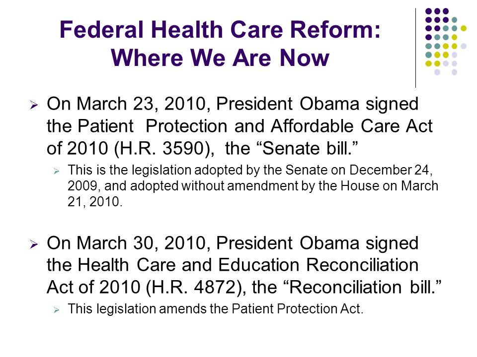 Immediate Reforms: Early Retiree Reinsurance – 90 days $5B in federal funding.