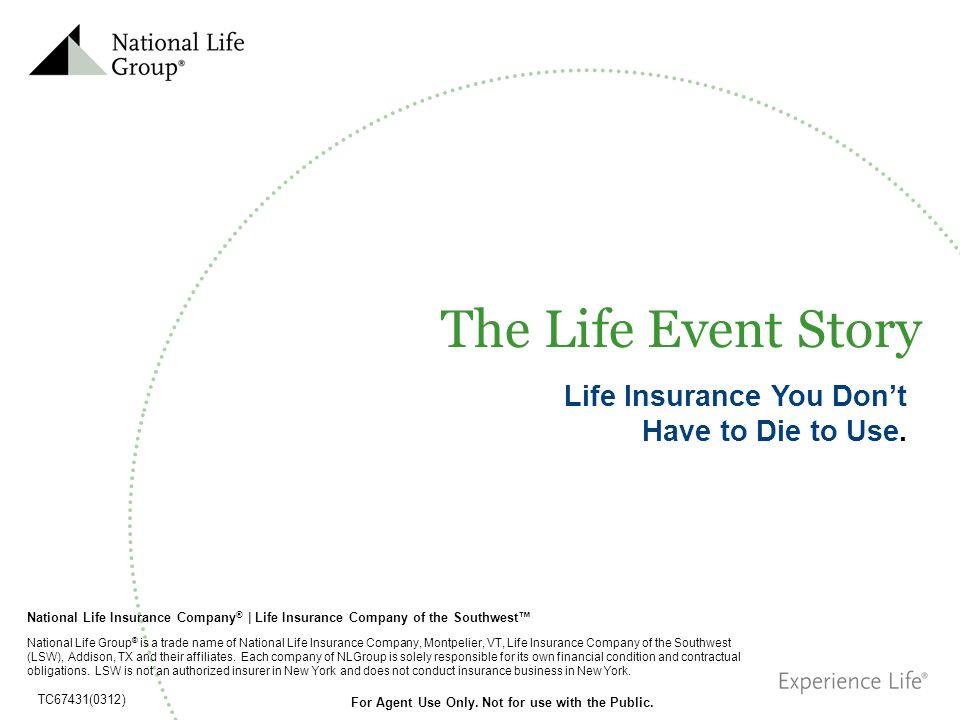 National Life Insurance Company ® | Life Insurance Company of the Southwest National Life Group ® is a trade name of National Life Insurance Company,