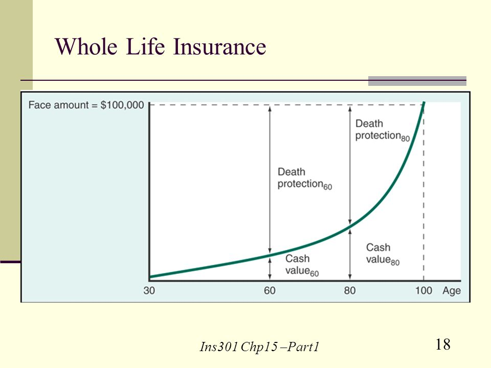 18 Ins301 Chp15 –Part1 Whole Life Insurance