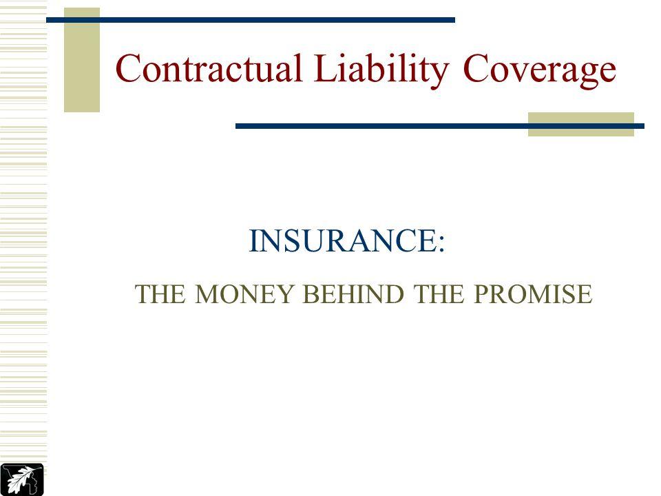 Jeffrey M. Tonks YCPARMIA Contractual Liability Coverage