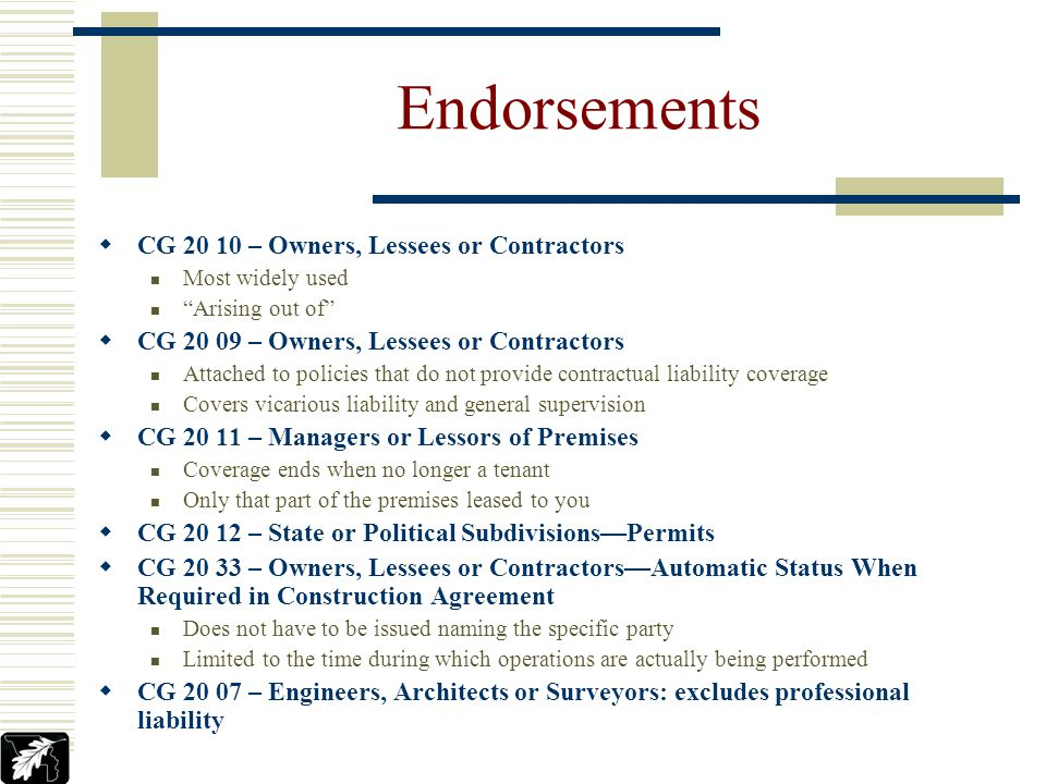 Losses that arise after the work has been completed and accepted Pre-1993 additional insured endorsements included completed operations coverage- aris