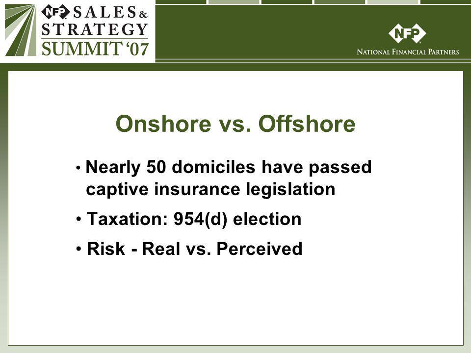 Onshore vs.