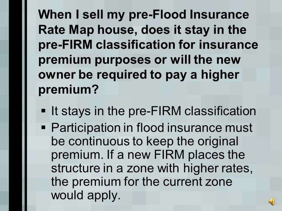 If I self-finance a new house or rebuild my home in a Special Flood Hazard Area and I will not purchase flood insurance, must I comply with the commun