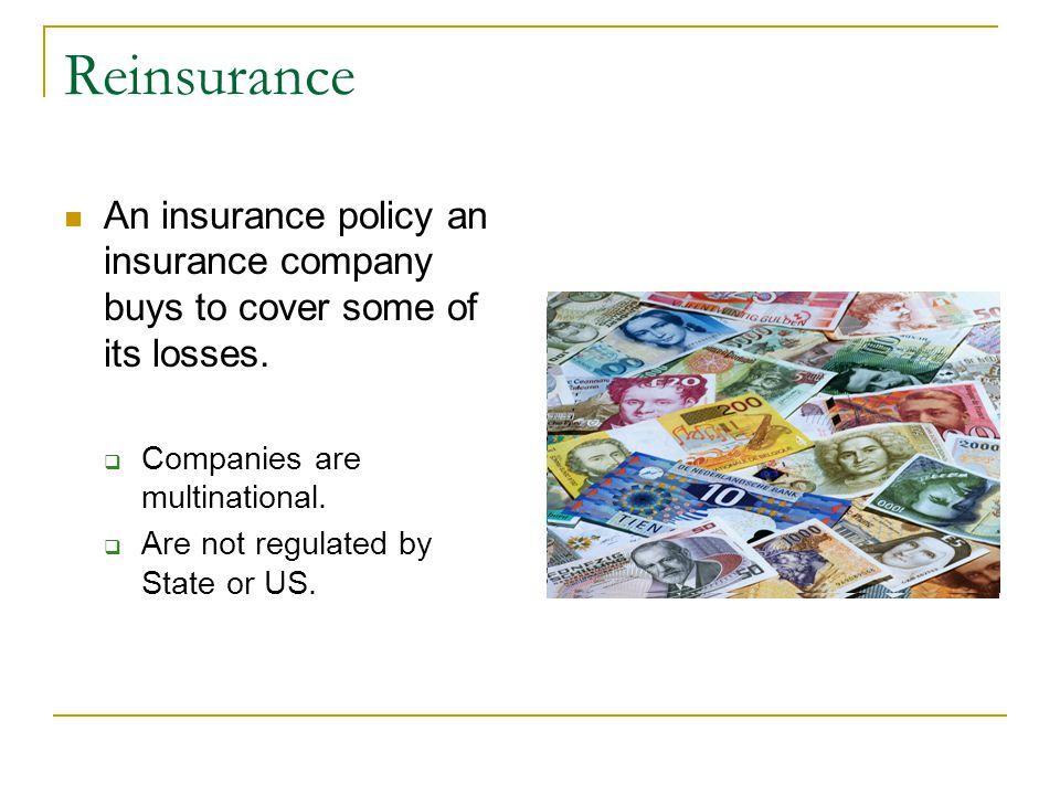 Catastrophic Loss Stress Point Insured Losses > $100 Billion MegaCat $$$$$$$$$$$$$$$$$$$$$$$$$$$$$$$$$$$$$$$$$$$$ Katrina: $45B $$$$$$$$$$$$$$$$$$ An drew: $22B $$$$$$$$$$ WTC : $21B $$$$$$$$ North- ridge: $18.5B $$$$$$