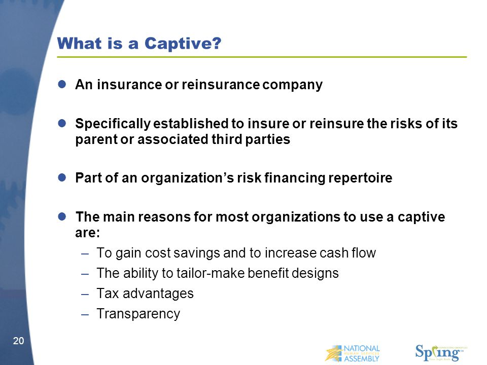 What is a Captive.